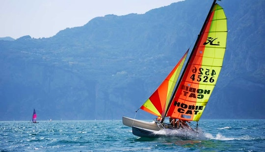 Hobie 15 Beach Catamaran Rental And Courses In Malcesine