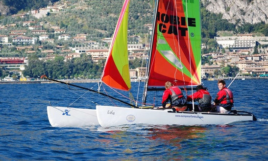 Hobie 18 Beach Catamaran Rental In Malcesine