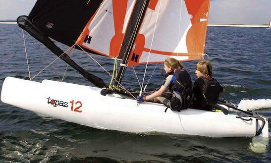 Topper Topaz 12 Beach Catamaran Rental And Courses In Malcesine