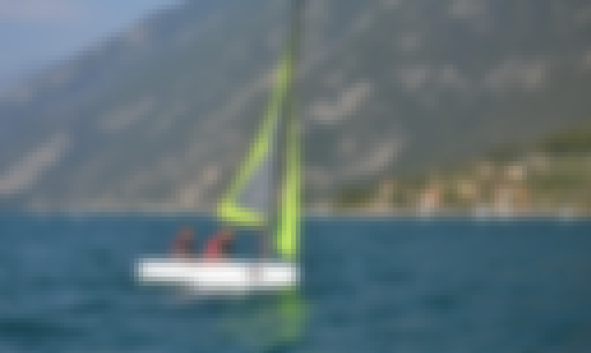 Topaz Taz Dinghy Rental and Courses in Malcesine
