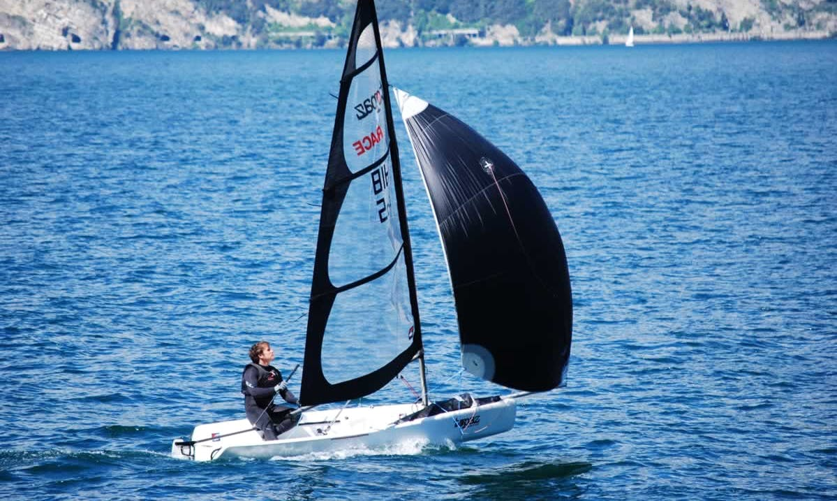 Topaz Race X and Sailing Courses in Malcesine