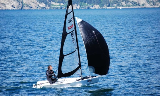 Topaz Race X Dinghy Rental And Sailing Courses In Malcesine