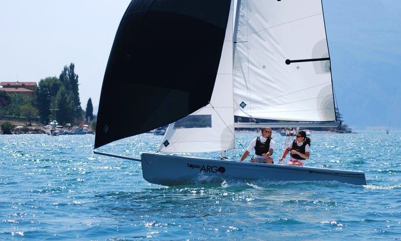 Topaz Argo Sailing and Courses in Malcesine