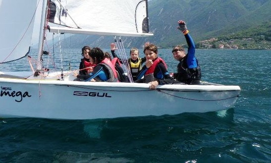 Topaz Omega Dinghy Rental And Courses In Malcesine