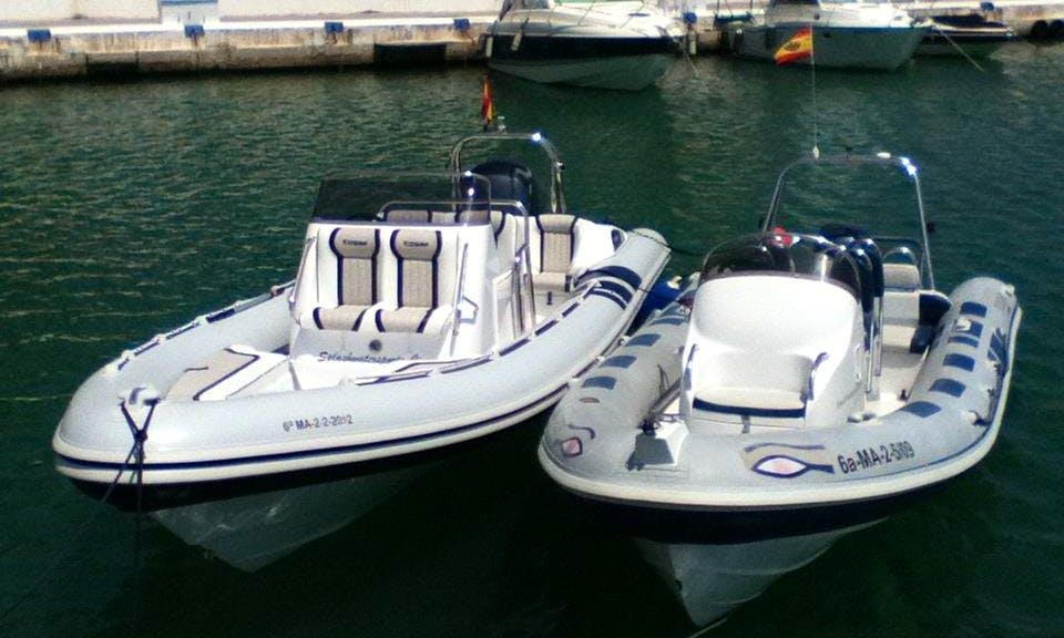 Rapid Rigid Inflatable Boat Rides in Marbella, Spain
