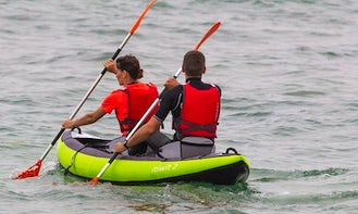 Double Kayak Lesson and Rental in Pietrasanta