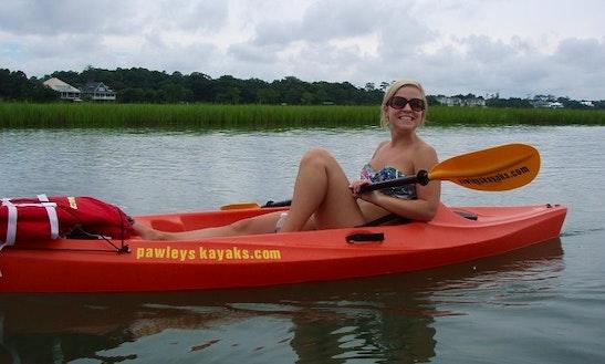 Single Kayak Rental In Pawleys Island, South Carolina