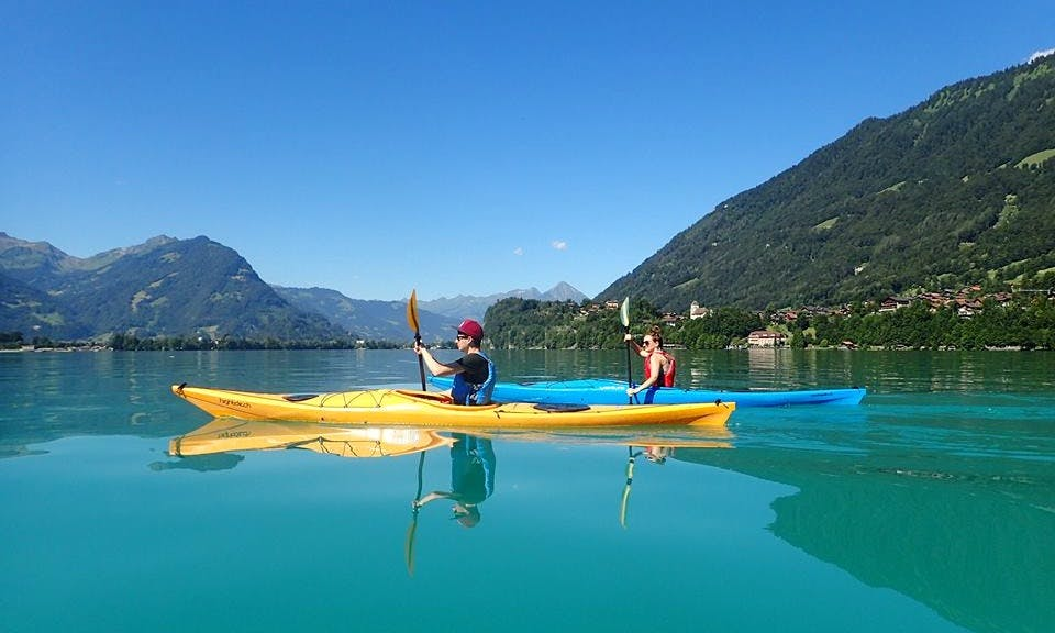 Kayak Tours, Lessons and Rental, Available in Bonigen, Switzerland