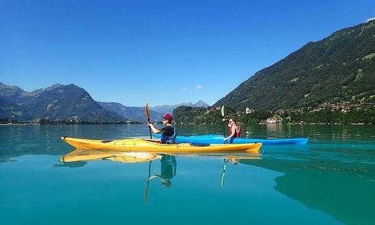 Single Kayak Rental & Trips In Bonigen, Switzerland