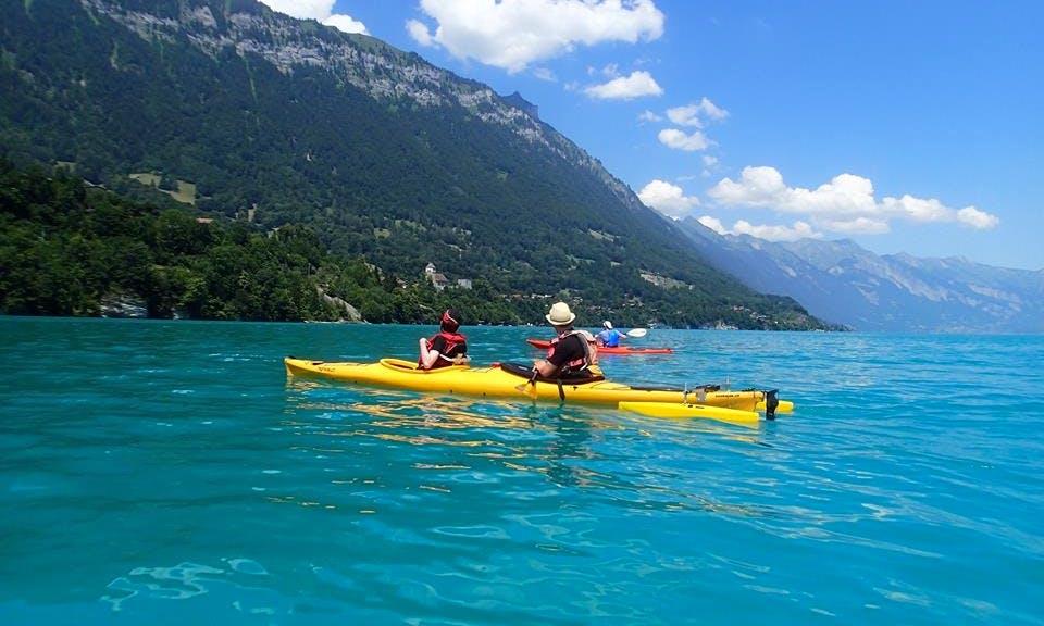 Evening Kayak Trips | Tandem Kayak Rental in Bonigen, Switzerland