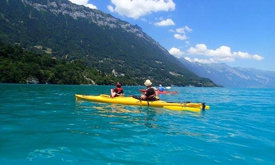 Tandem Kayak Rental & Trips In Bonigen, Switzerland