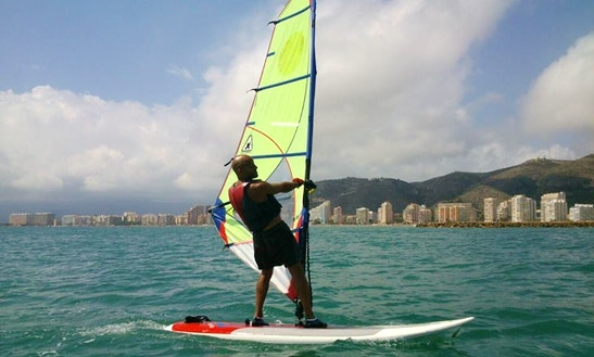 Windsurfing In Cullera, Spain