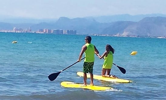 Learn Stand Up Paddleboarding In Cullera, Spain