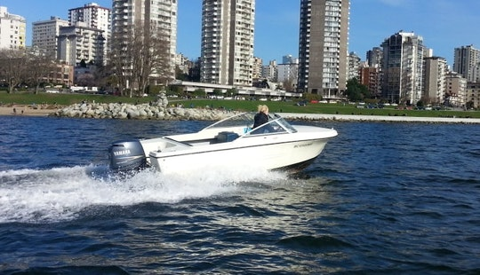 Rent 17' Hourston Glasscraft Speed Boat In Vancouver, Canada