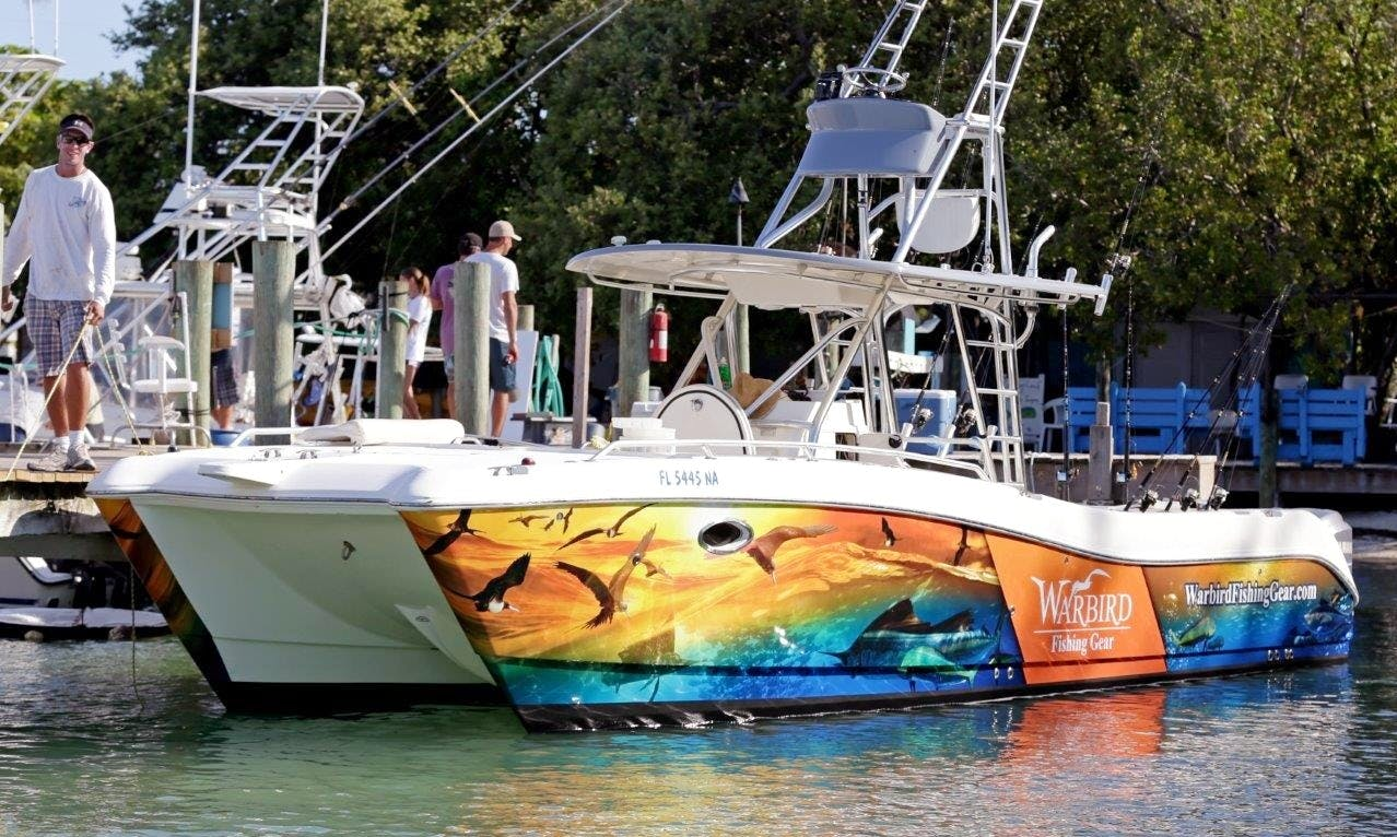"""Enjoy Fishing in Islamorada, Florida On 33' """"Warbird"""" Yacht"""