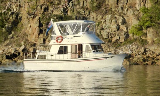 Charter 34' Omega Trawler In Newport, Australia