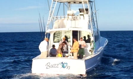 "Enjoy Fishing in Islamorada, Florida by 46ft ""Buzz On"" Sports Fisherman"