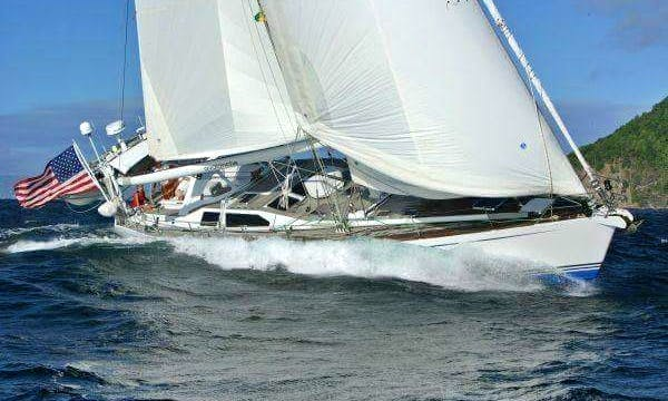 60ft Trehard Cutter Cruising Monohull Rental in Newport, Rhode Island