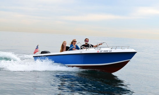 40hp Offshore Powerboat Rental In Newport Beach