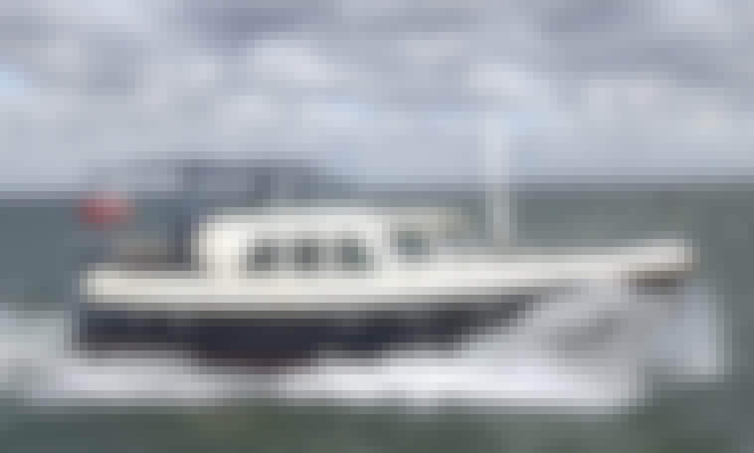 """Hire 42' Motor Yacht """"Cygnus"""" from Sneek"""