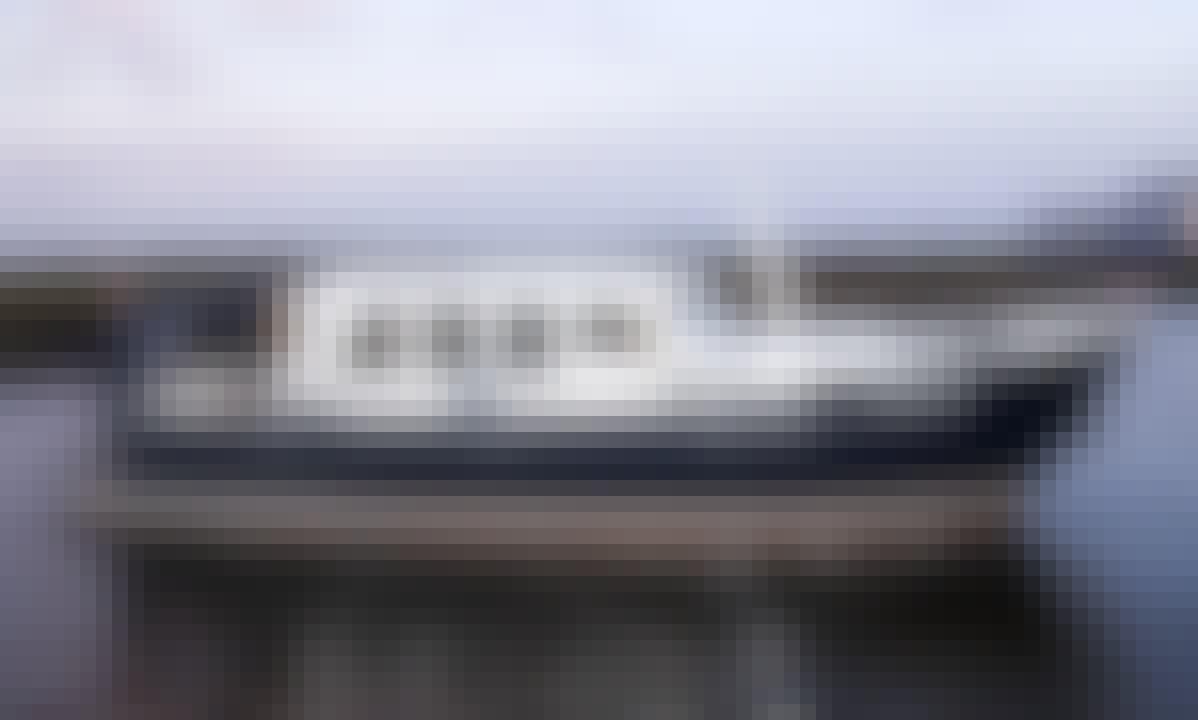 """35ft """"Zeearend"""" Motor Yacht Rental in Friesland, Netherlands"""