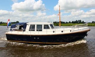 "Charter a 35ft ""Najade"" Motor Yacht in Friesland, Netherlands"