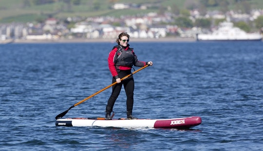 Enjoy Stand Up Paddleboard Courses In Great Cumbrea, Scotland