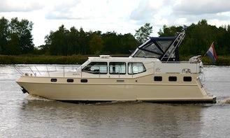 "Charter a 38ft ""Maica"" Merenpoort Motor Yacht in Friesland, Netherlands"