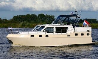 "Charter a 38ft ""Anouk"" Motor Yacht in Friesland, Netherlands"