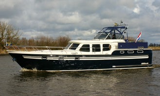 "41ft ""Afrodite"" Motor Yacht Charter in Friesland, Netherlands"