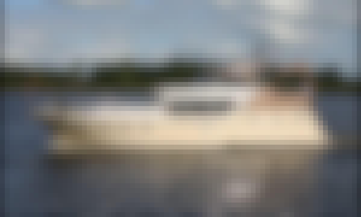 """43ft """"Neptun"""" Motor Yacht Rental in Sneek, Friesland"""
