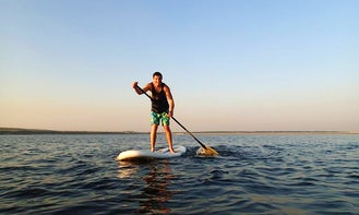 Enjoy Stand Up Paddleboard Rental and Courses in Chbany, Czech Republic