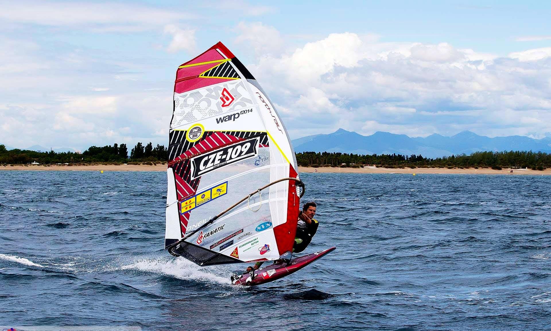 Enjoy Windsurf Rental and Courses in Chbany, Czech Republic