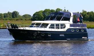 """Explore Friesland, Netherlands on this 46ft """"Orion"""" Motor Yacht"""