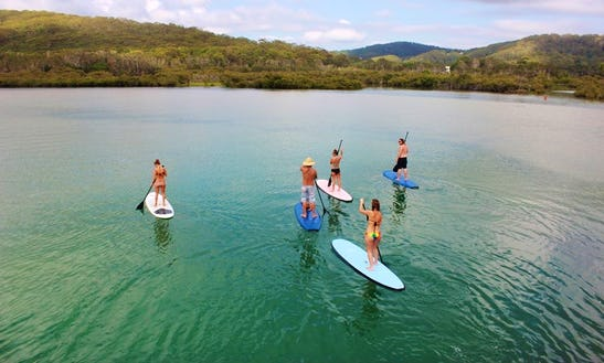 Hire Stand Up Paddleboards In Tweed Heads, New South Wales