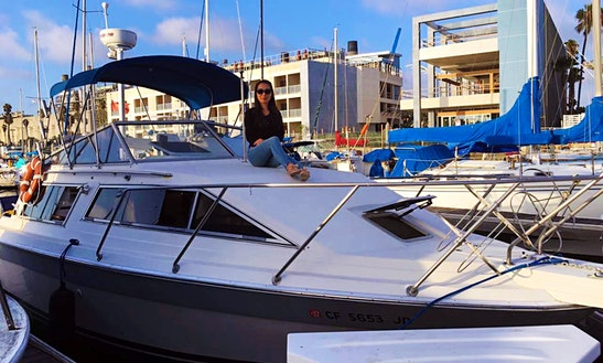 29ft Cuddy Cabin Yacht For Rent In Long Beach, California