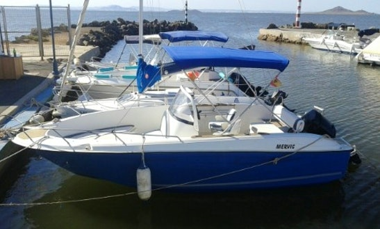22' Quicksilver Commander Center Console In La Manga Menor, Spain
