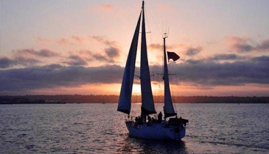 55' Large Cruising Sailboat Charter In San Diego