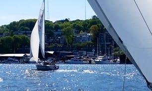 "Rent 20ft 'Fraid Knot"" Santana Electric Powered Sailboat In Seattle, Washington"
