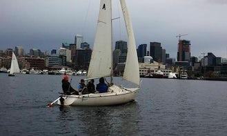 20ft ''Cici'' Santana Yacht Rental in Seattle, Washington
