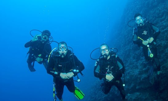 Just Go Out And Enjoy Diving In Antalya, Turkey