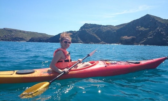 Hire An Open Single Kayak Or Join Guided Kayak Excursions In Playa Sant Tomas