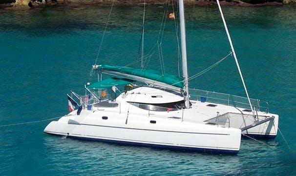 "Charter ""Atenas"" Belize 38 Sailing Catamaran Boat in Cartagena, Bolivar"