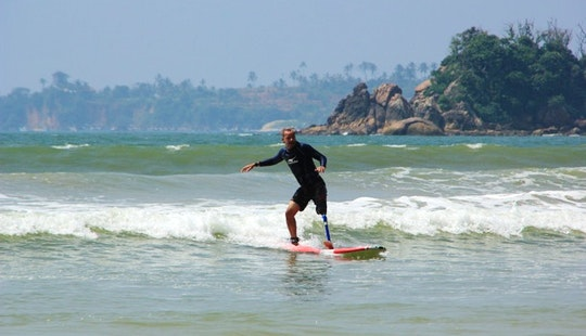Surfboard Lessons And Rentals In Weligama, Sri Lanka