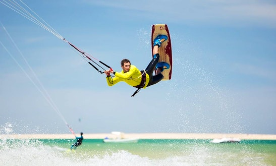 Enjoy Kiteboarding Trips And Courses In Lomma, Sweden