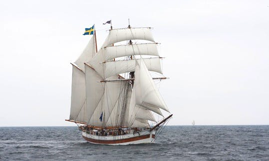 Enjoy Sailing in Loftagatan, Swedenon on 100' Schooner