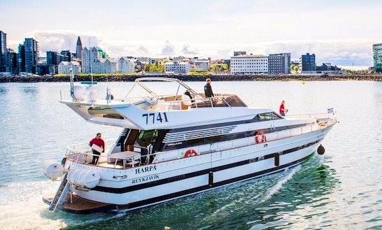 Enjoy Reykjanesbær, Iceland On Motor Yacht