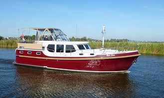 Explore Sneek, Friesland by Babro Classic 1150 XL Motor Yacht