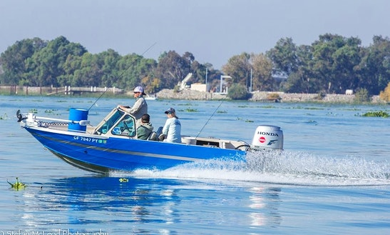 Jon Boat Fishing Charter In Sacramento, California