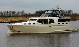 "35ft ""Caprice"" Vacance Motor Yacht Rental in Friesland, Netherlands"